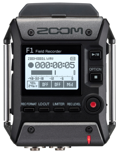 Zoom F1 Field digital recorder