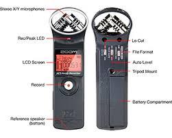 Zoom H1 digital recorder